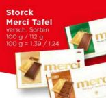 Merci Tafelschokolade von Storck