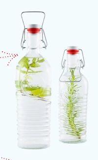 Glas-Flasche Officina von Bormioli Rocco
