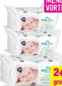 Sensitiv Feuchttücher von Babywell