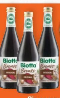 Bio Breuss Gemüse-Saft von Biotta