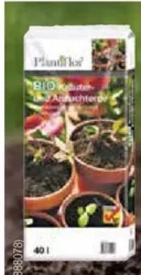 Bio Kräuter-Anzuchterde von Plantiflor