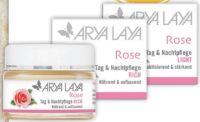 Rose Tag-Nachtpflege von Arya Laya