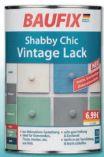 Shabby Chic Vintage Lack von Baufix