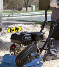 Benzin-Rüttelplatte HP1300S von Scheppach