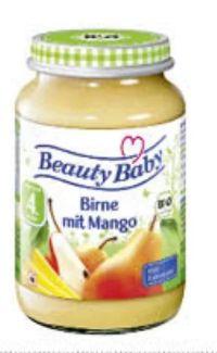 Bio Fruchtgläschen von Beauty Baby
