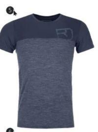 Herren-Shirt 150 Cool von Ortovox