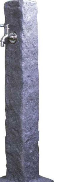 Wasserzapfsäulen Granitoptik von Gardenline