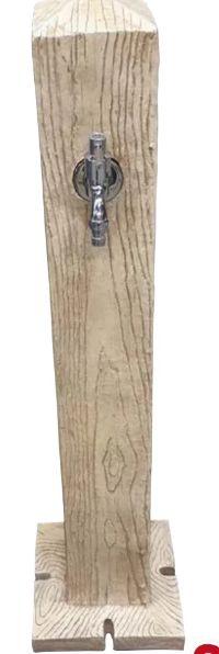 Wasserzapfsäulen Holzoptik von Gardenline