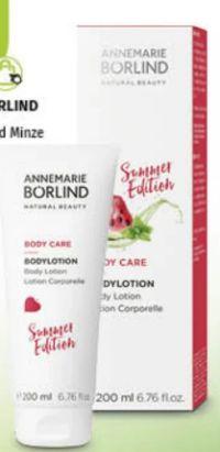 Body Care Bodylotion von Annemarie Börlind