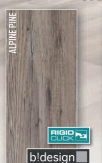 Vinyl-Designboden Rigid SPC Alpine Pine von b!design