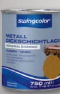 Metalldickschichtlack von Swingcolor