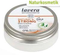 Deo Creme Natural & Strong von Lavera