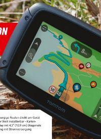 Motorrad-Navigationssystem Rider 550 von TomTom