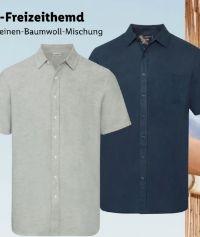 Herren Leinen-Freizeithemd von Livergy