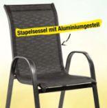 Alu-Stapelstuhl von Simpex Basic