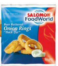 Onionrings von Salomon Food World