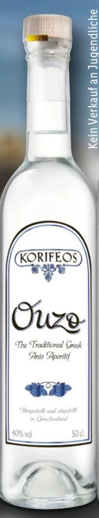 Ouzo von Korifeos
