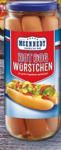 Hot Dog Würstel von Mcennedy