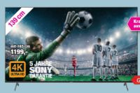 Ultra HD LED-TV KD-55XH9299 von Sony
