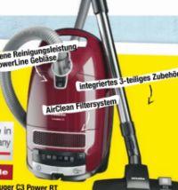 Staubsauger C3 Power RT von Miele