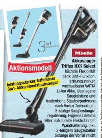 Akkusauger Triflex HX1 von Miele