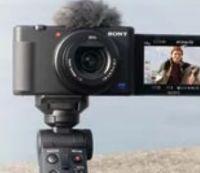 ZV-1 + Mini Tripod Handgriff von Sony