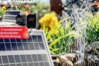 Solar-Teichpumpen-Komplett-Set von Mauk