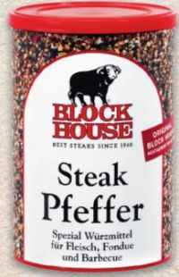Steak Pfeffer von Block House