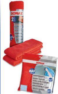 Microfasertücher von Sonax