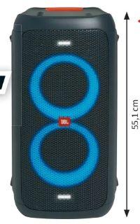 Tragbarer Bluetooth-Lautsprecher Partybox 100 von JBL