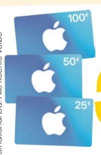 Geschenkkarten von Apple