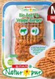 Bio-Beef & Veggie-Burger von Spar Natur pur