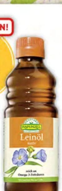 Bio-Leinöl von Rapunzel