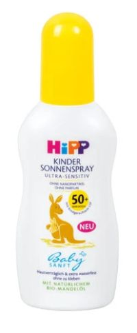 Kinder Sonnenspray Ultra-Sensitiv LSF 50+ von Hipp
