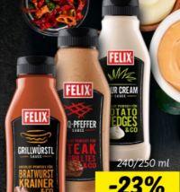Saucen von Felix