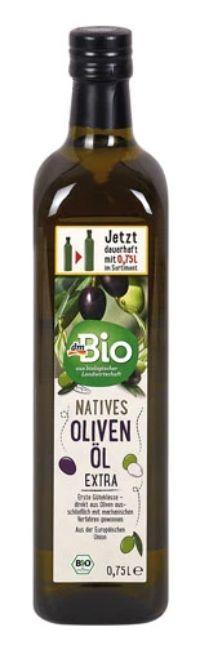 Natives Olivenöl Extra von dmBio