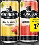 Apfel Cider von Strongbow