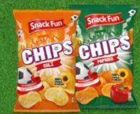 Kartoffel-Chips von Snack Fun