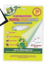 Schulbuchfolie von Jolly