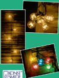 LED-Biergartenkette von Konstsmide