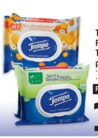 Feuchtes Toilettenpapier von Tempo