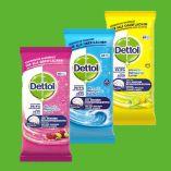 Allzweck-Reinigungstücher von Dettol
