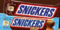 Schokoriegel von Snickers