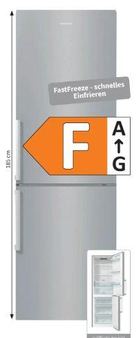 NoFrost Kühl-Gefrierkombination NRK6191ES5F von Elektrabregenz