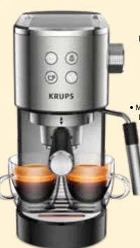 Espresso-Siebträgermaschine Virtuoso XP442C von Krups