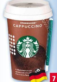 Kaffeegetränk von Starbucks