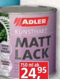 Mattlack von Adler