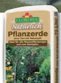 Pflanzerde von Florissa