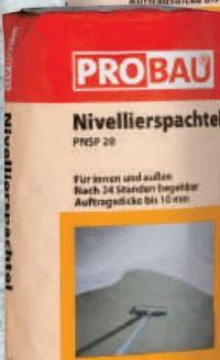 Nivellierspachtel von Probau