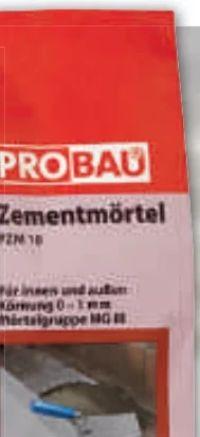 Zementmörtel von Probau